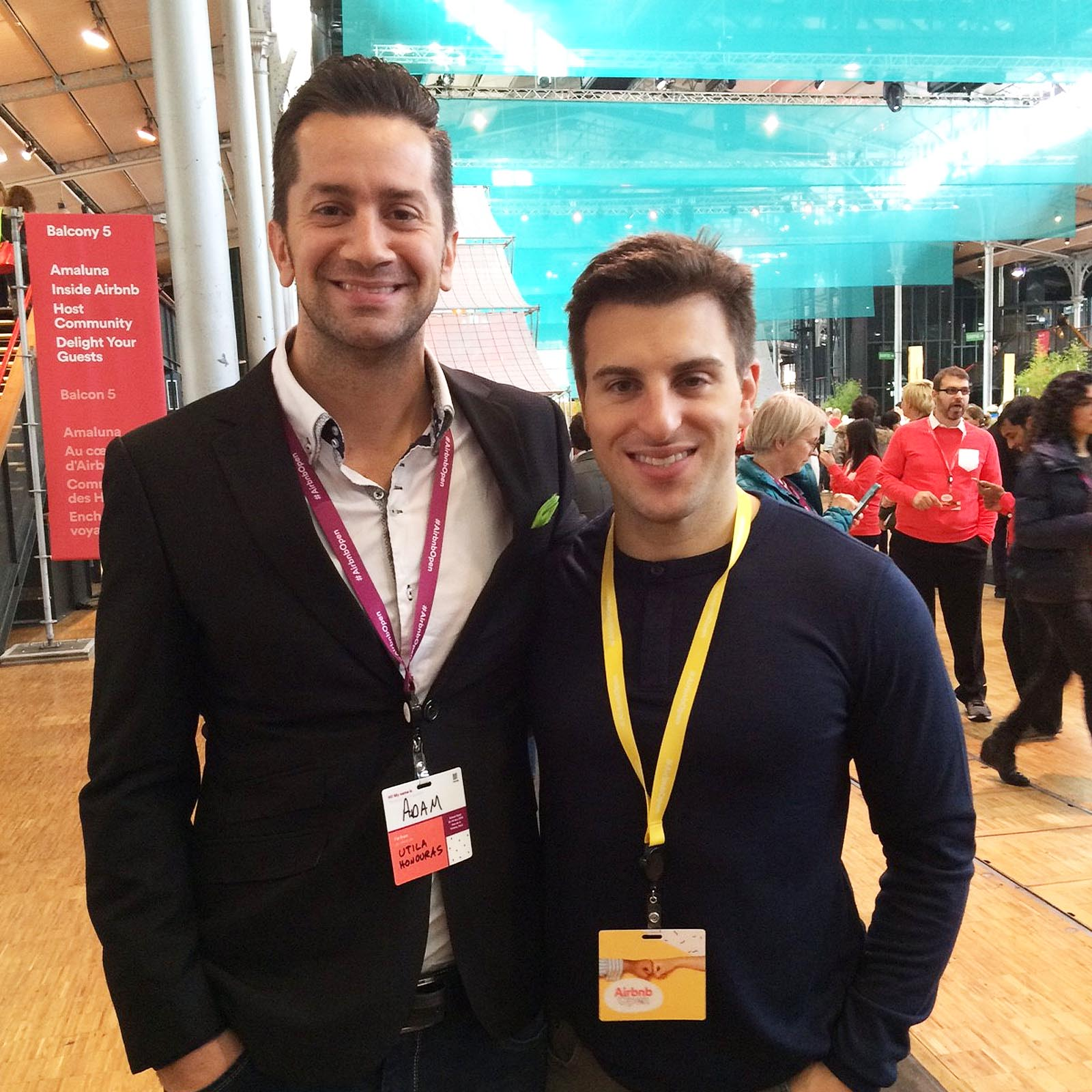 Fellow Tech Founder and Chief Executive, Brian Chesky, CEO of AirBnB